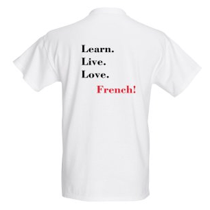 T-shirt women M -learn live love - Click to enlarge picture.
