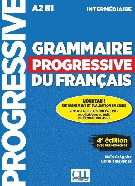 Grammaire Progressive du Francais - Intermediaire - CLE international - Click to enlarge picture.